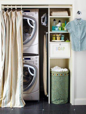 Video: Laundry Room Storage
