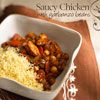Saucy Chicken with Garbanzo Beans