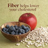 Eat More Fiber to Lower Cholesterol
