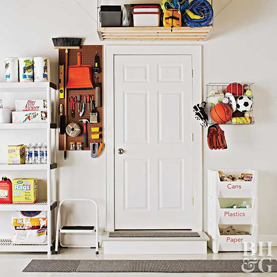 Ideas For Garage Organization Storage