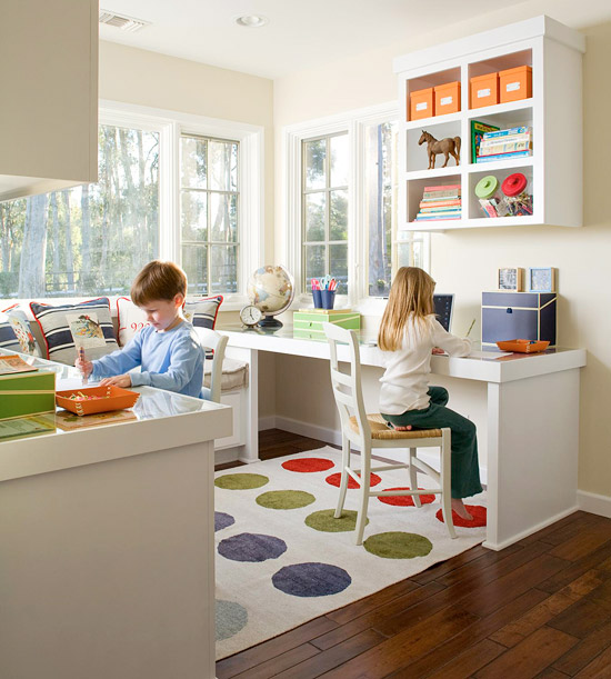 Homework Station from BHG