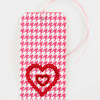 Red-and-White Heart Gift Tag