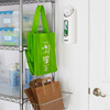 Position Reusable Bags by the Door