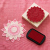 How to Make Stamped Flower Gift Embellishments