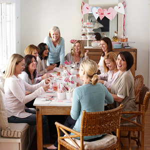 Valentine's Day Crafting Party from Better Homes and Gardens