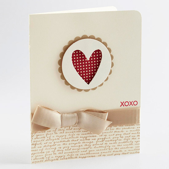 Heart Cutout Card
