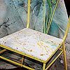 Drop Cloth Decor: Seat Cover