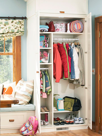 Maximize Your Mudroom