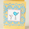 Lovebirds Easter Card