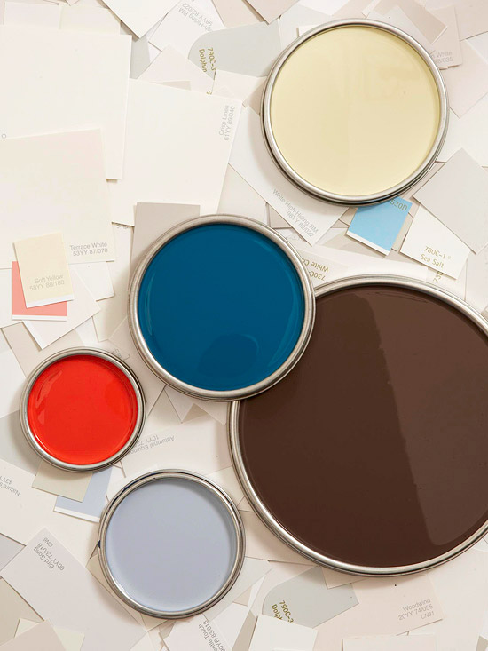 How to use color swatches to pick paint colors better for How to pick paint colors