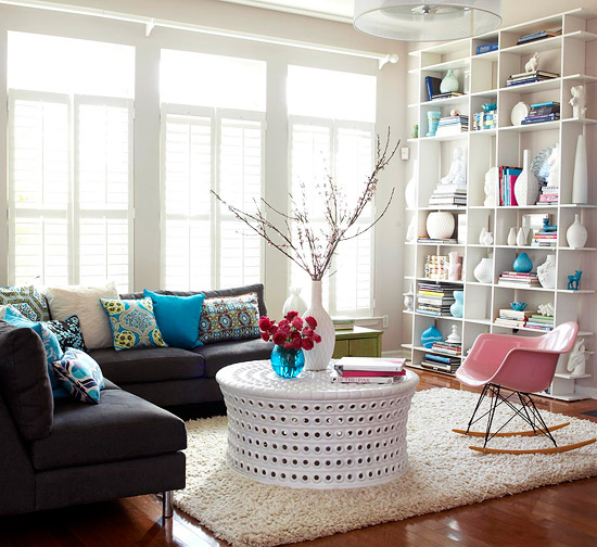 Decorating With A Black Sofa