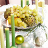 Green Produce Centerpiece