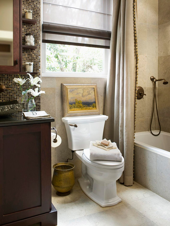 Our Favorite Small Baths That Live Large