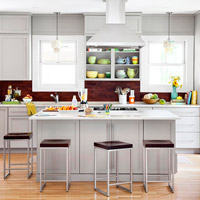 Cool Gray Cabinetry