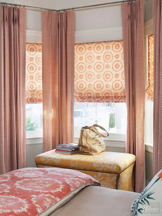 window treatments for bedrooms. Think Tall How to Decorate a Small Bedroom