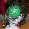 Green Witch Pumpkin
