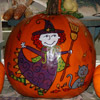 Smiling Witch Pumpkin