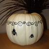 Dangling Spider Pumpkin