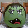 Painted Frankenstein Pumpkin