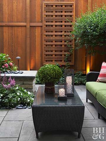 Create a Private Backyard Retreat