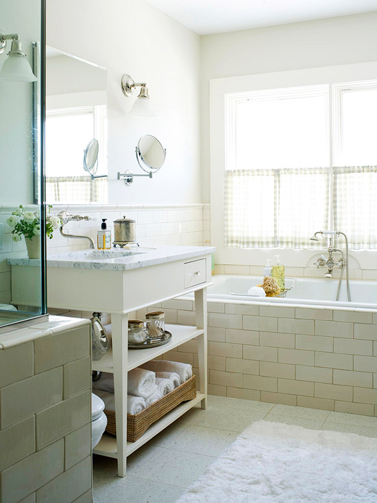 backsplash and tub surround bathroom design ideas