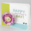 Paper Flower Mother's Day Card