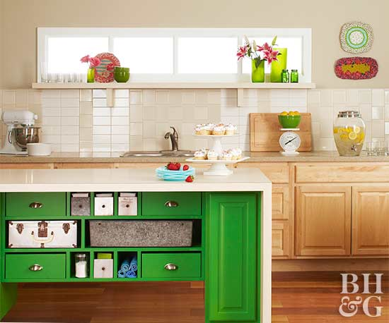 How To Build A Kitchen Island Better Homes Gardens