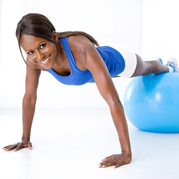 Fabulous Exercise Ball Workout