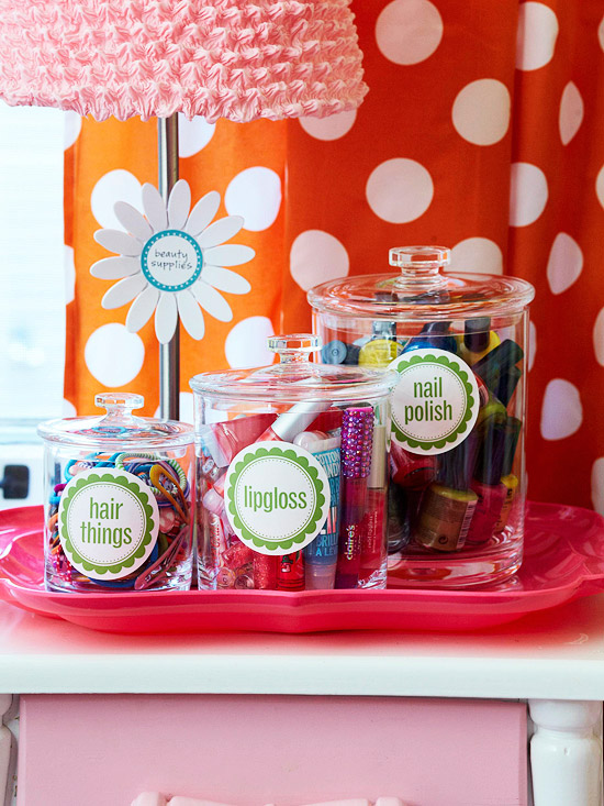 Storage Solutions Using Labels