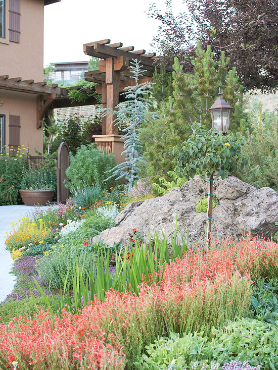 Learn Design Tricks and Add Plants for Rock Gardens