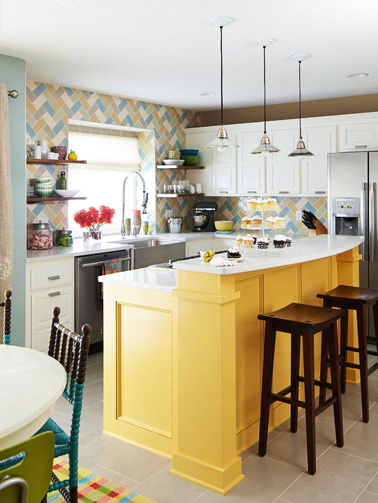 A Bright and Budget-Friendly Makeover