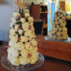 White Rose Christmas Decor