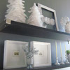 All-White Christmas Display
