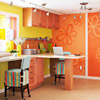 Playful Color Scheme: Orange + Lime