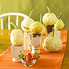 Elevated Gourds Centerpiece
