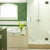 Mossy Green Bathroom