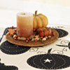Pumpkin-and-Candle Halloween Centerpiece