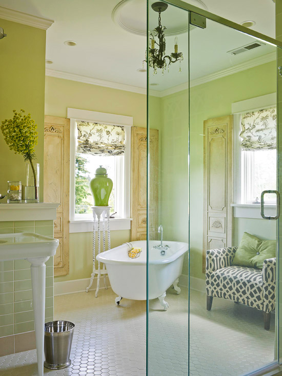 Bathroom Designs Vintage a vintage-inspired bathroom remodel