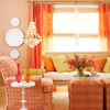 Charming Color Scheme: Salmon + Taupe