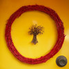 Red Grapevine Fall Wreath