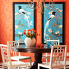 Vivid Color Scheme: Orange + Blue