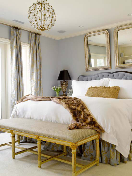 20 Ideas To Bring Glamour To Your Bedroom With Gold Accents Home ...