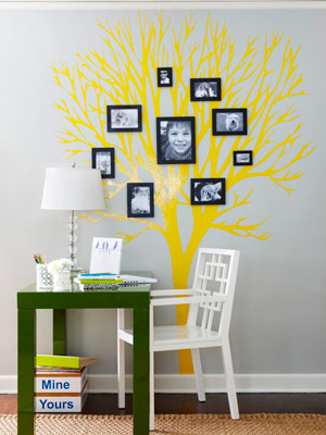 Peel And Stick Decal Style - Wall decals on furniture