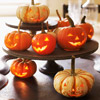 Jack-o'-Lantern Halloween Centerpiece