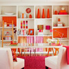 Whimsical Color Scheme: Fuchsia + Tangerine