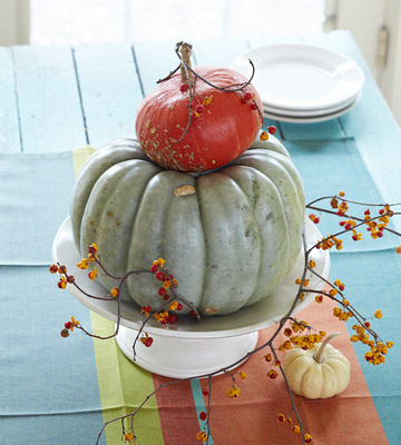 Tabletop Decorating Ideas for Thanksgiving