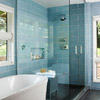 Glass Tile Shower Surround