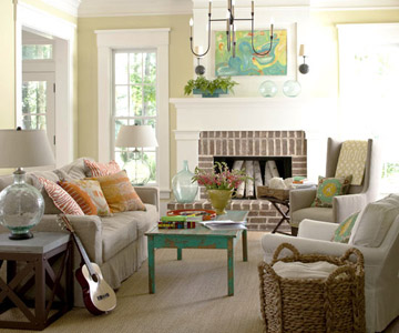 Browse Family-Friendly Living Rooms