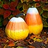 Candy Corn Pumpkins