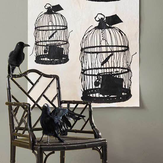 Bleak Birdcage Decoration